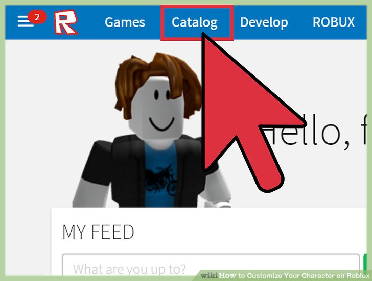 How to Customize Your Character on Roblox 8 Steps (with Pictures)
