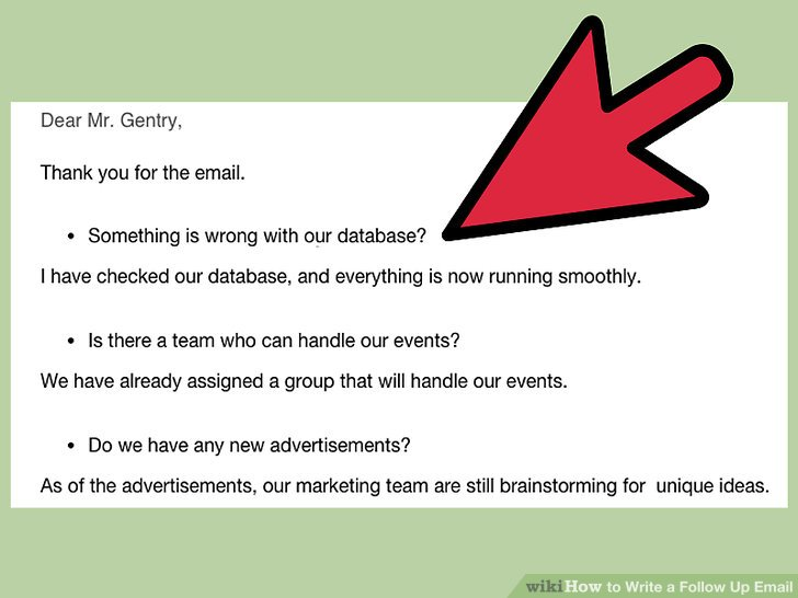 How to Write a Follow Up Email (with Pictures) - wikiHow - how to write a follow up email
