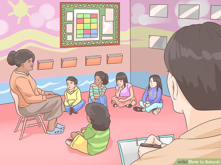 How to Babysit (with Pictures) - wikiHow