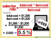 4 Ways to Calculate Sales Tax