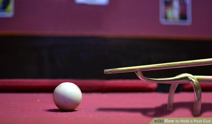 How to Hold a Pool Cue 10 Steps (with Pictures) - wikiHow