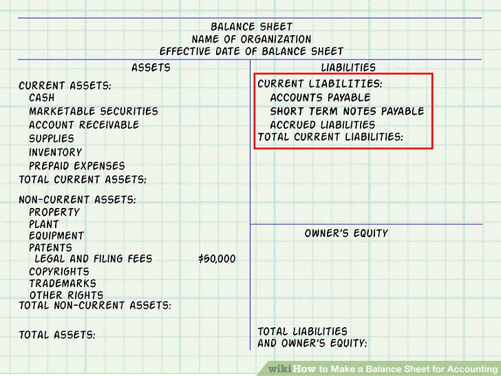 Expert Advice on How to Make a Balance Sheet for Accounting - asset and liability statement template