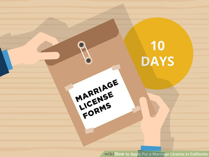 How to Apply For a Marriage License in California 8 Steps - best of torrance ca birth certificate