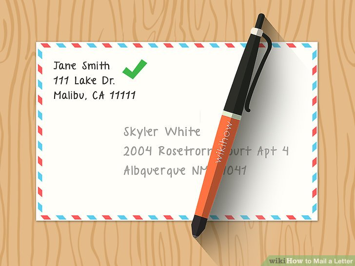 The Easiest Way to Send a Letter in the Mail - wikiHow