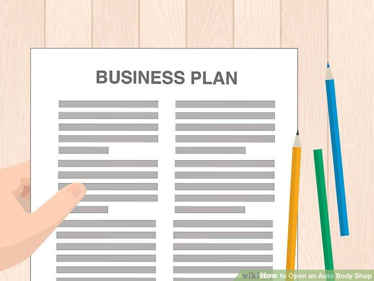 How to Open an Auto Body Shop (with Pictures) - wikiHow - retail business plan essential parts