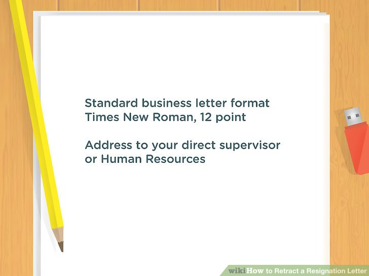 How to Retract a Resignation Letter (with Pictures) - wikiHow - membership resignation letter
