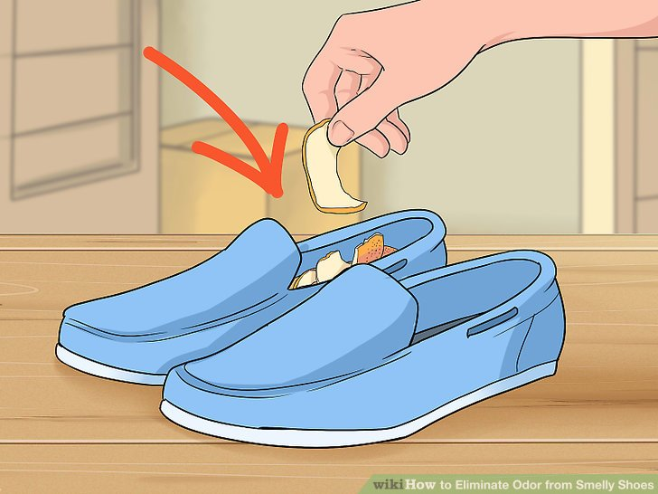 How To Eliminate Odor From Smelly Shoes With Pictures