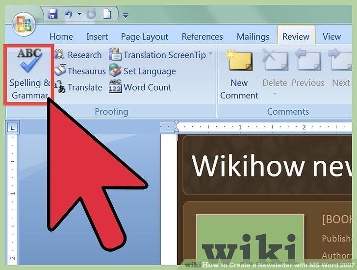 Microsoft Word 2007 Newsletter Templates - Fiveoutsiders