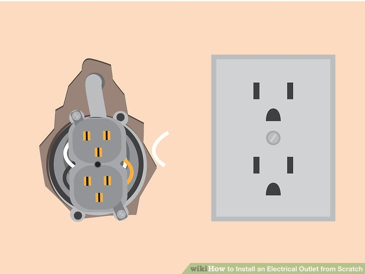 How to Install an Electrical Outlet from Scratch (with Pictures)