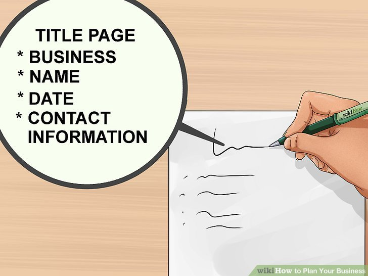 How to Plan Your Business (with Pictures) - wikiHow