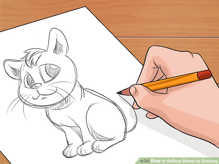 3 Ways to Relieve Stress by Drawing - wikiHow