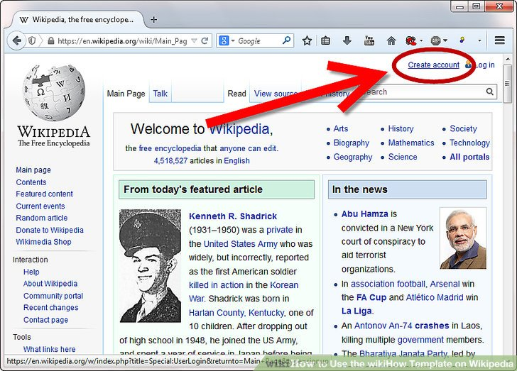 How to Use the wikiHow Template on Wikipedia 7 Steps