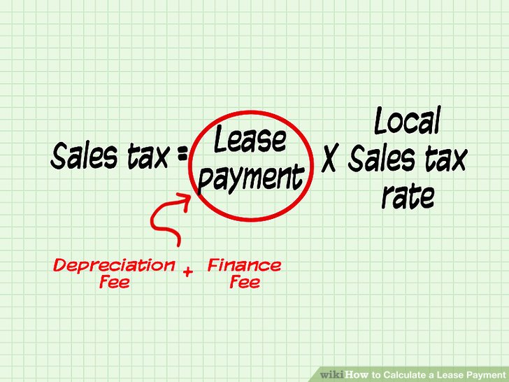 How to Calculate a Lease Payment 12 Steps (with Pictures)