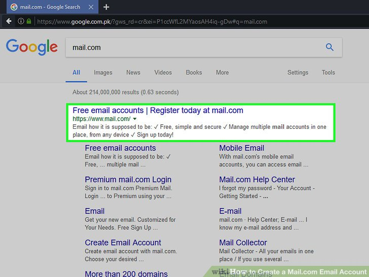 How to Create a Mail Email Account (with Pictures) - wikiHow