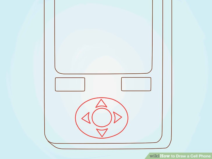 How to Draw a Cell Phone 6 Steps (with Pictures) - wikiHow