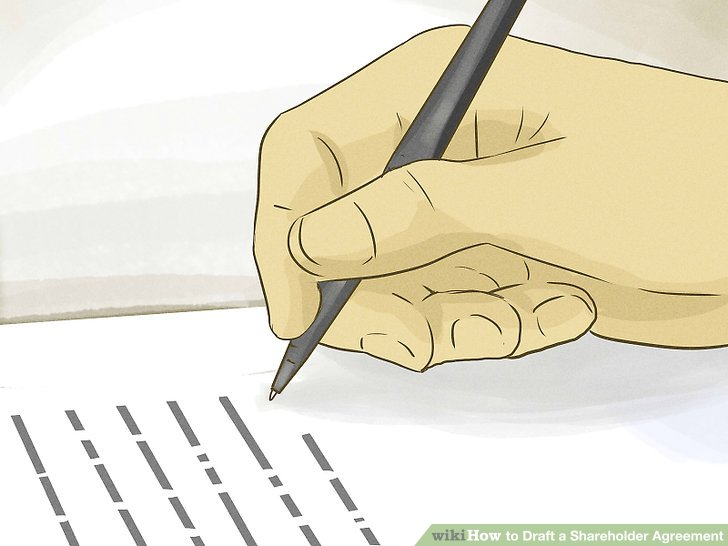 How to Draft a Shareholder Agreement 11 Steps (with Pictures) - shareholder agreement
