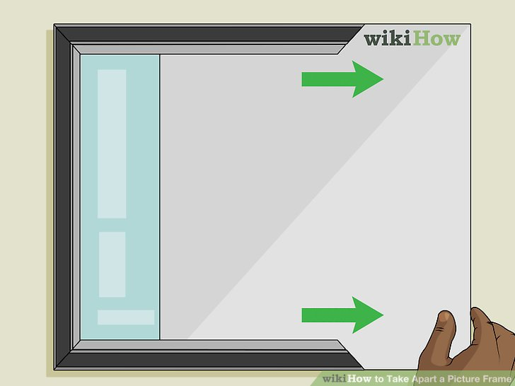 How to Take Apart a Picture Frame 11 Steps (with Pictures)
