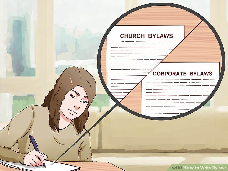 How to Write Bylaws (with Pictures) - wikiHow - Club Bylaws Template
