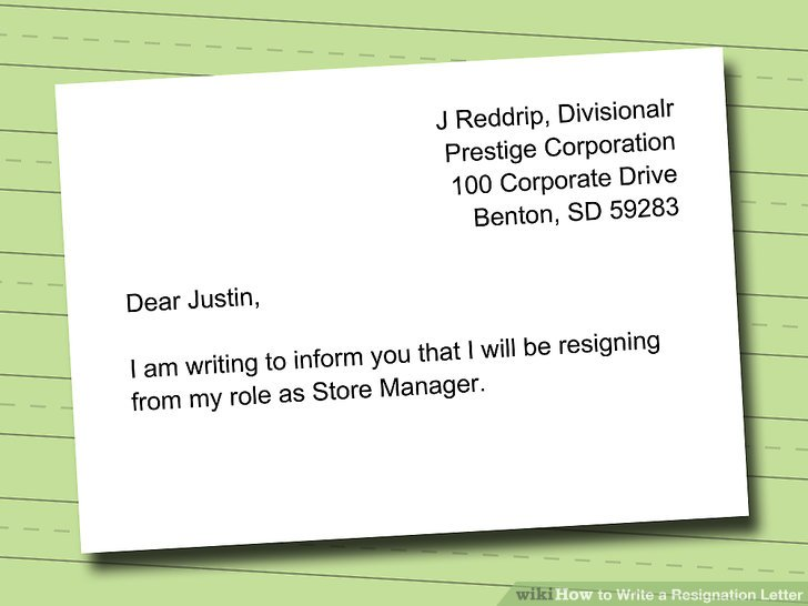 How to Write a Resignation Letter (with Sample) - wikiHow - quick tips writing resignation letters