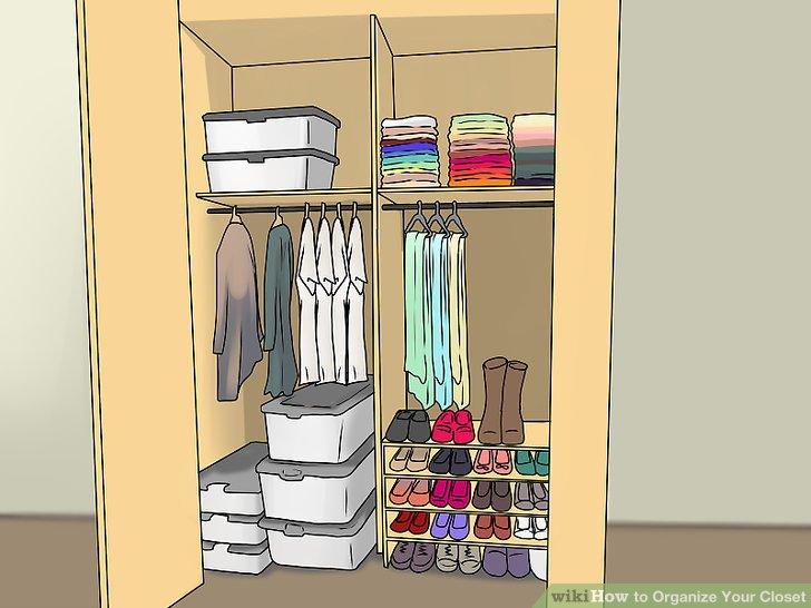 How to Organize Your Closet 13 Steps (with Pictures) - wikiHow