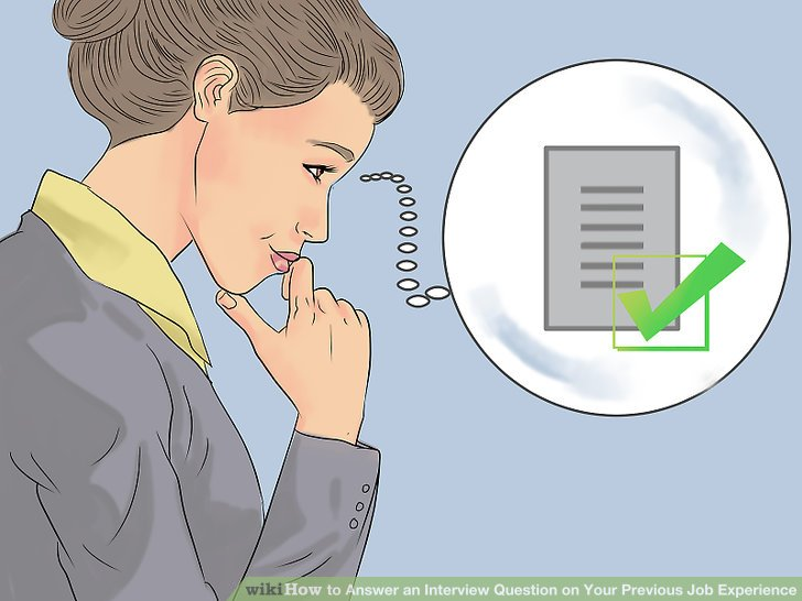 How to Answer an Interview Question on Your Previous Job Experience - how to answer interview questions