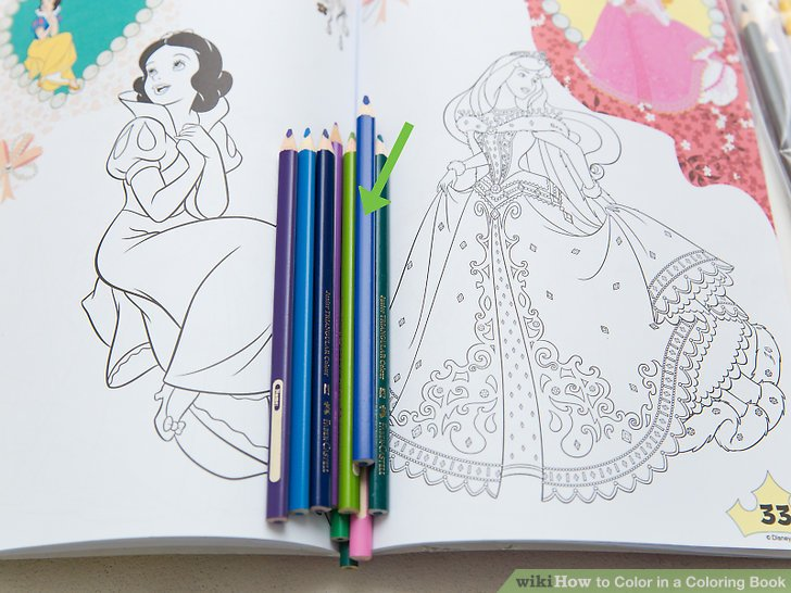 How to Color in a Coloring Book 15 Steps (with Pictures)