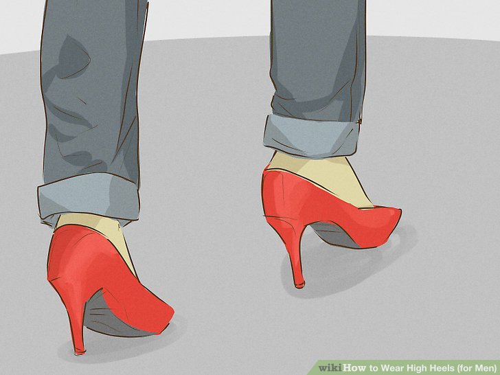How To Wear High Heels For Men With Pictures Wikihow