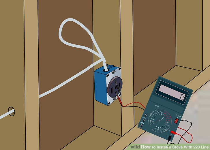 How to Install a Stove With 220 Line (with Pictures) - wikiHow