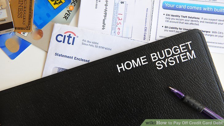 How to Pay Off Credit Card Debt 13 Steps (with Pictures) - how to pay off credit card