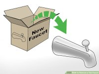 3 Ways to Remove a Tub Faucet - wikiHow