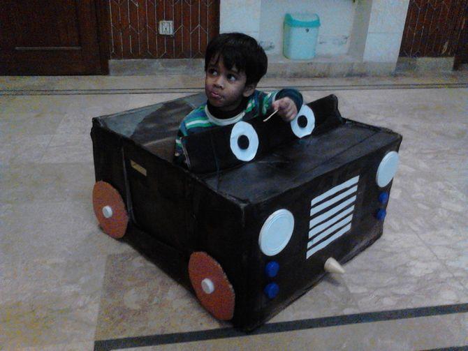 Make A Car Out Of Cereal Box Carsjpcom