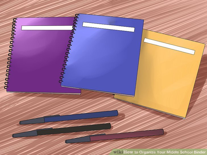How to Organize Your Middle School Binder 13 Steps - notebook binder