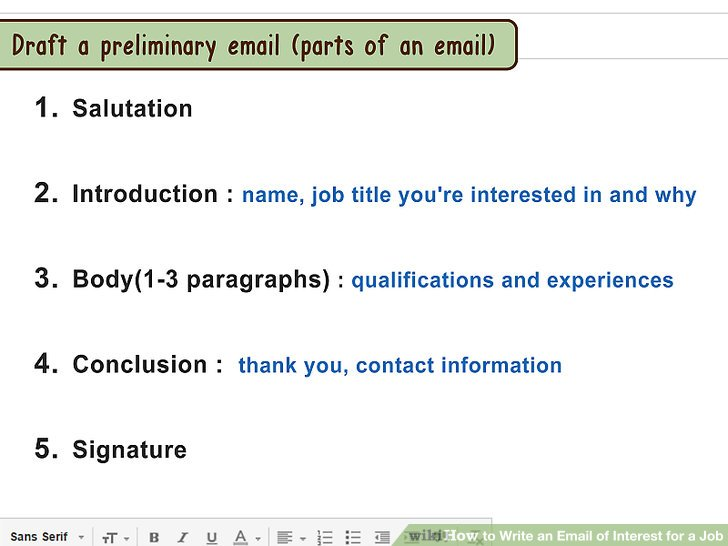 3 Ways to Write an Email of Interest for a Job - wikiHow