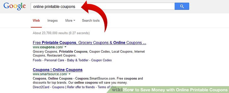 How to Save Money with Online Printable Coupons 5 Steps