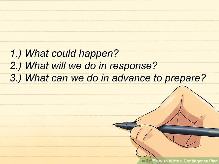 The Best Ways to Write a Contingency Plan - wikiHow - contingency plan example