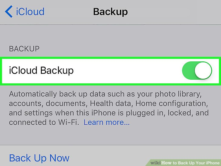 3 Ways to Back Up Your iPhone
