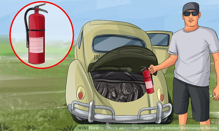 How to Check an Ignition Coil on an Aircooled Volkswagen Beetle