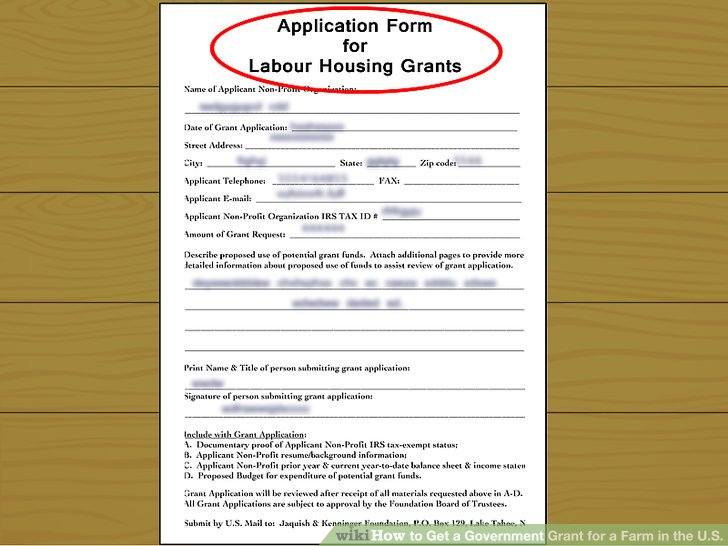 How to Get a Government Grant for a Farm in the US 14 Steps