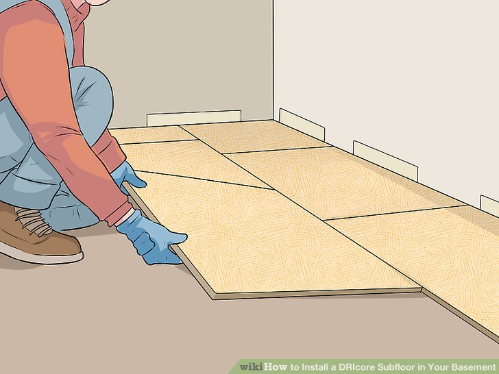 How to Install a DRIcore Subfloor in Your Basement (with