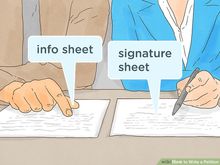 Amazing ... The Best Way To Write A Petition   WikiHow   How To Write Petition Guide  ...