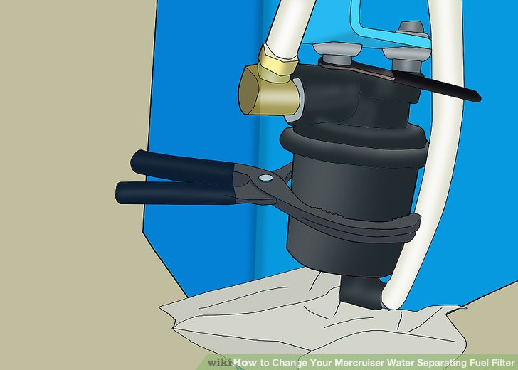 How to Change Your Mercruiser Water Separating Fuel Filter