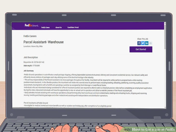 How to Get a Job at FedEx 12 Steps (with Pictures) - wikiHow