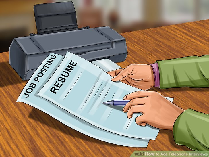 3 Ways to Handle a Telephone Interview - wikiHow