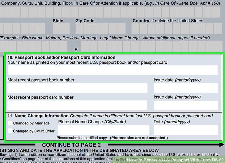 Passport Renewal Application Form Staruptalent How To Renew A Us