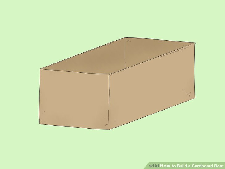 3 Ways To Build A Cardboard Boat Wikihow