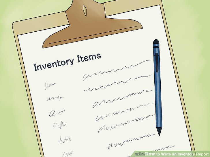 How to Write an Inventory Report 9 Steps (with Pictures)