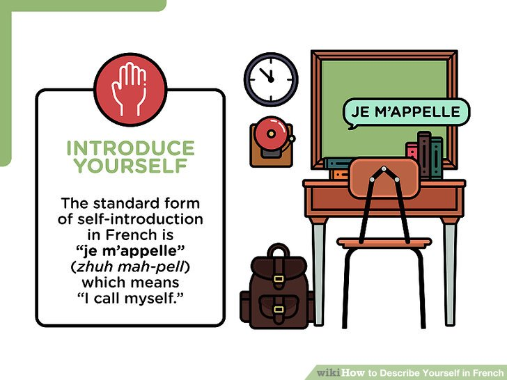 How to Describe Yourself in French 9 Steps (with Pictures)