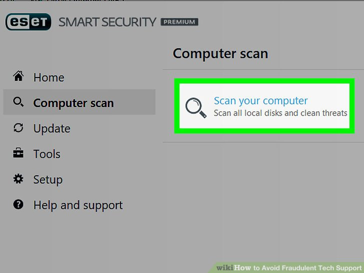 How to Avoid Fraudulent Tech Support 5 Steps (with Pictures)