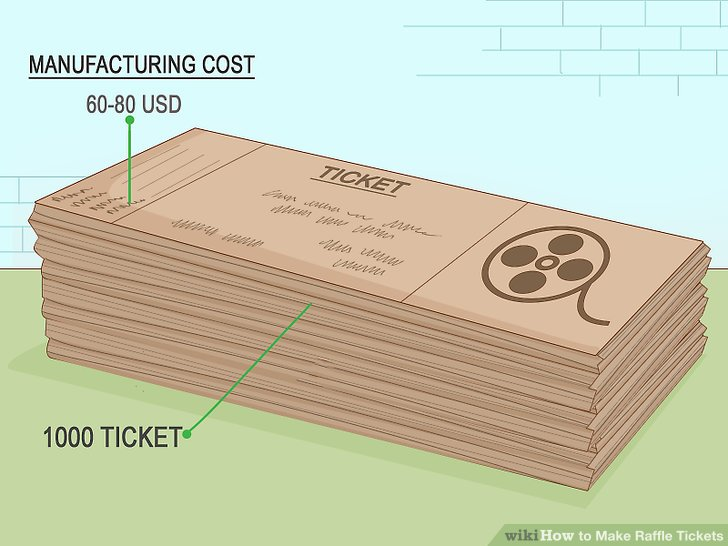 3 Ways to Make Raffle Tickets - wikiHow