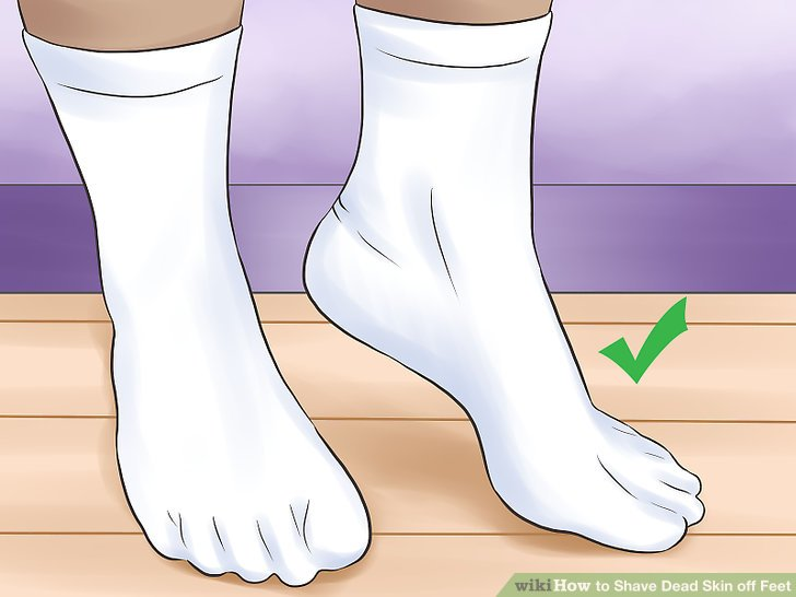 3 Ways To Shave Dead Skin Off Feet Wikihow